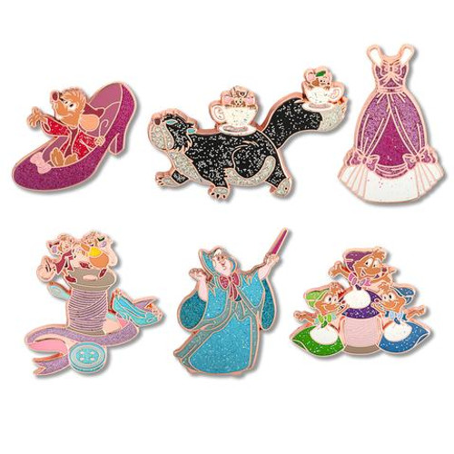 DISNEY PRINCESS CINDERELLA 70TH ANNIVERSARY BLIND BOX Enamel Pin