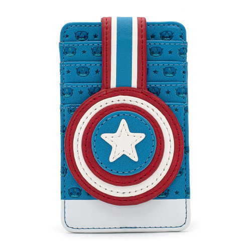 Loungefly Captain America Cardholder Wallet