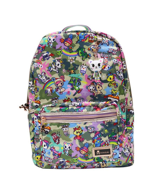 Tokidoki Camo Kawaii Full Size Backpack