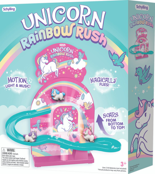 Schylling Unicorn Rainbow Rush