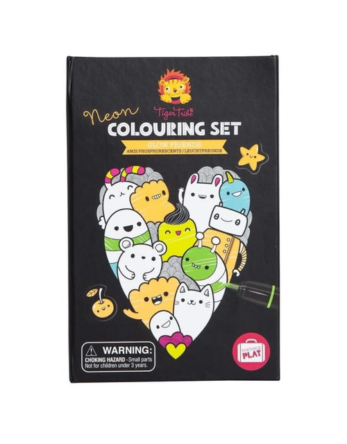 Colouring Set: Glow Friends
