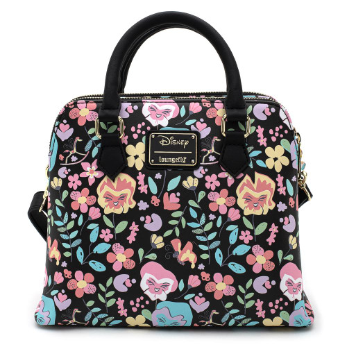 Loungefly x Alice in Wonderland: Flower Print Crossbody