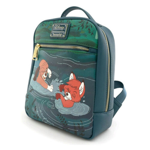 Loungefly x Fox & the Hound Water Fight Mini Backpack