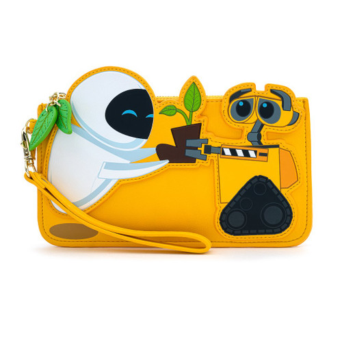 LOUNGEFLY x PIXAR: WALL-E and EVE BOOT Plant Flap Wallet