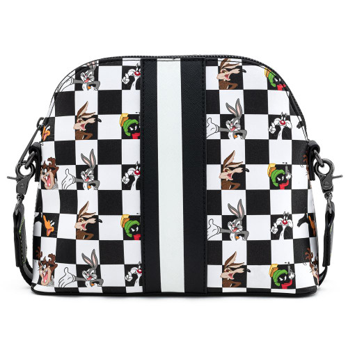 LOUNGEFLY X LOONEY TUNES CHARACTER CHECKER CROSS BODY BAG