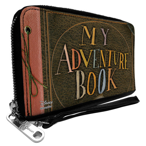 Up My Adventure Book Zip Around Wallet