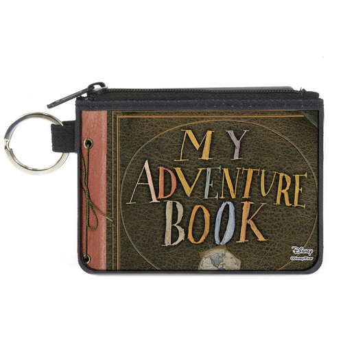 Up My Adventure Book Mini X-Small Zipper Wallet
