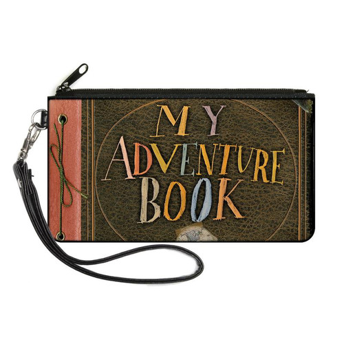 Up My Adventure Book Small Zip Wallet