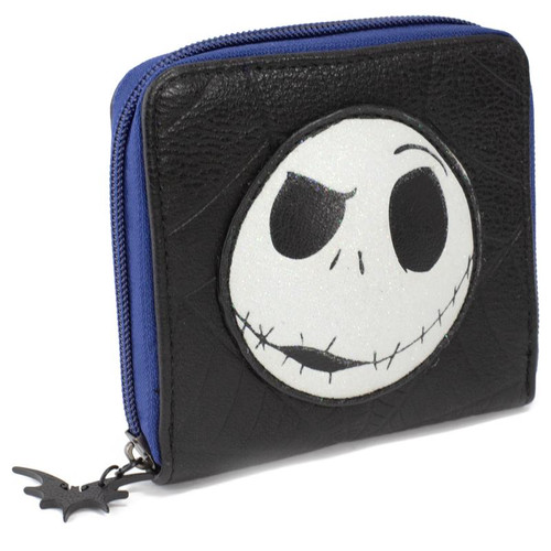 Jack Expression Nightmare Before Christmas Zip Around Wallet