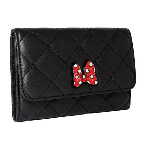 Minnie Mouse Bow Fold Over Wallet