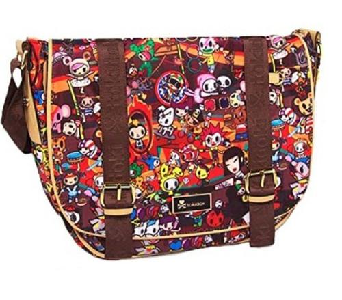 Tokidoki Limited Circus Print Shoulder Bag
