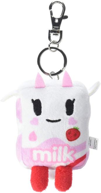 Strawberry Milk Plush Key chain