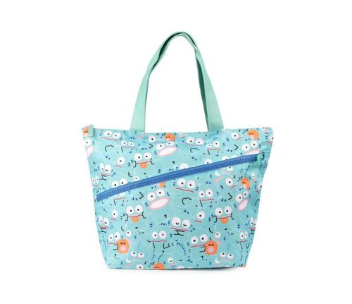 Sanrio Hangyodon Zipper Peek-A-Boo Tote Bag