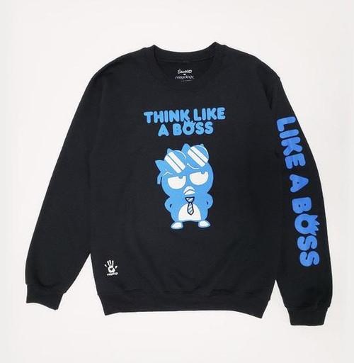 Sanrio Badtz Maru Think Like A Boss Crew Neck Sweater