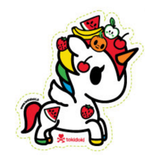 Tokidoki Fruttina 4.5 in Sticker