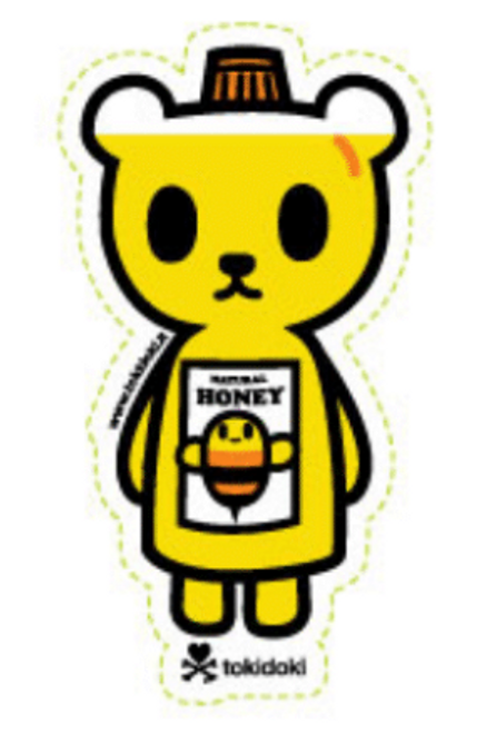 Tokidoki Be Sweet 4 in Sticker