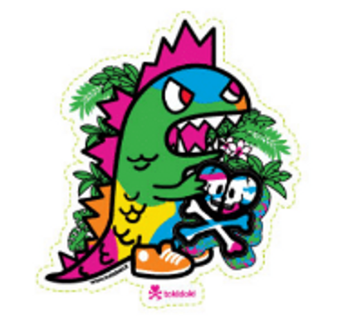 Tokidoki Tikimon Kaiju 5 in Sticker