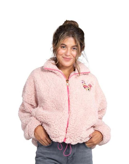 Tokidoki Donutella Sherpa Oversize Jacket