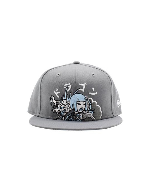 Tokidoki Men's Smoking Dragon Snapback 9Fifty