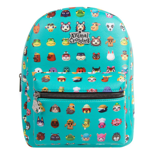 Bioworld Nintendo Animal Crossing AOP Mini Backpack