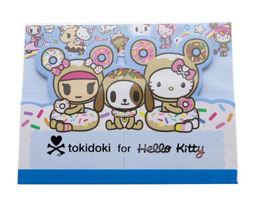 Tokidoki x Hello Kitty Sky Blue Notepad
