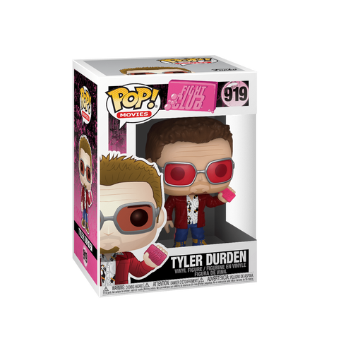 Funko Pop! Pop Vinyl  Pop Tyler Durden Fight club 919