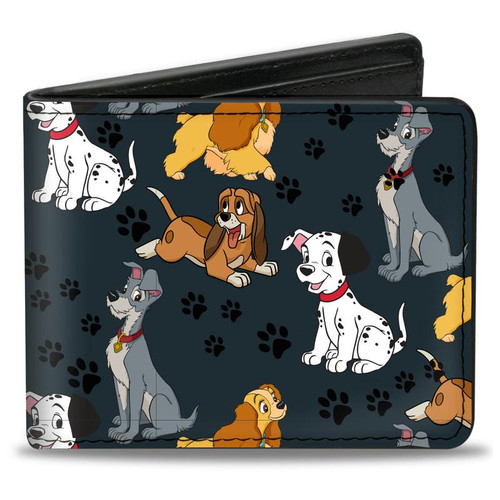 Disney 101 Dalmatian Dogs Men's Bi-Fold Wallet