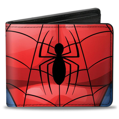 Spider Man Chest Men's Bi-Fold Wallet