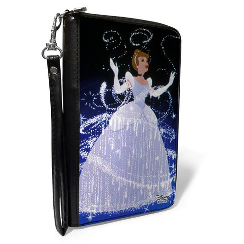 Disney Cinderella Ball Gown Women's Zip Around Wallet