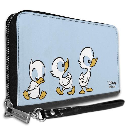 Disney Lilo and Stitch 3 ducklings Women's Zip Around Wallet