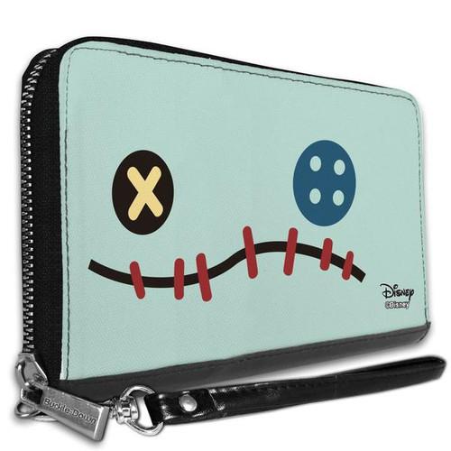 Disney Lilo and Stitch Scrump Face Women's Zip Around Wallet