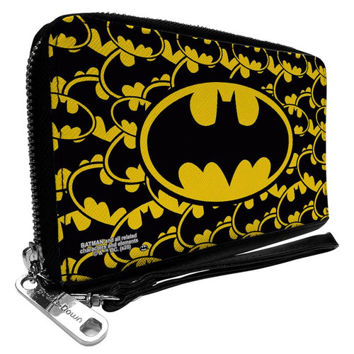 Batman Logo Women's Zip Around Wallet