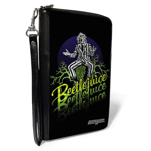Beetlejuice Women's Zip Around Wallet