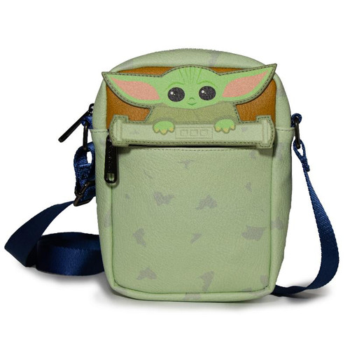 Star Wars The Child Baby Yoda Crossbody bag Chibi Peeking Women's