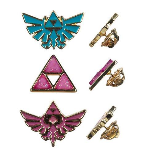 Nintendo Legend of Zelda: Twilight Princess 3pk Lapel Pins