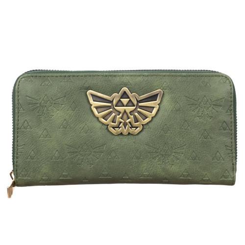Nintendo Legend of Zelda Women's Pull Zip Around Wallet