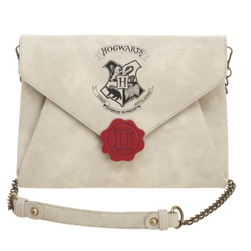 Harry Potter Women's Letter to Hogwarts Envelope Clutch Bag