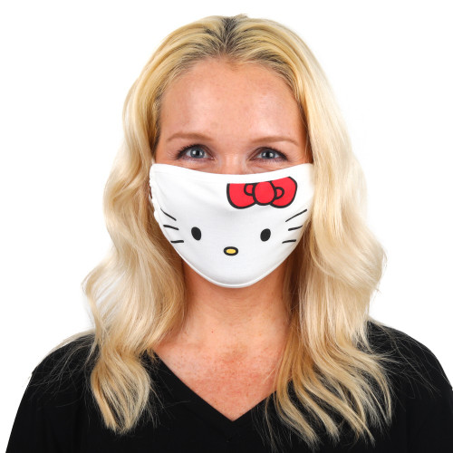 Sanrio Adult Face Cover Adjustable Hello Kitty