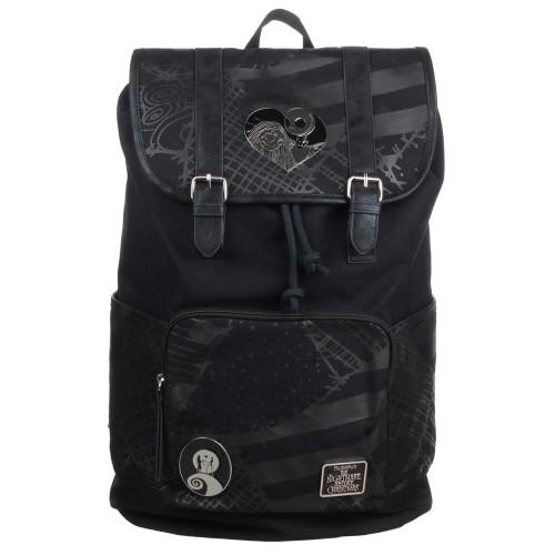 The Nightmare Before Christmas: Rucksack Backpack with Metal Badges