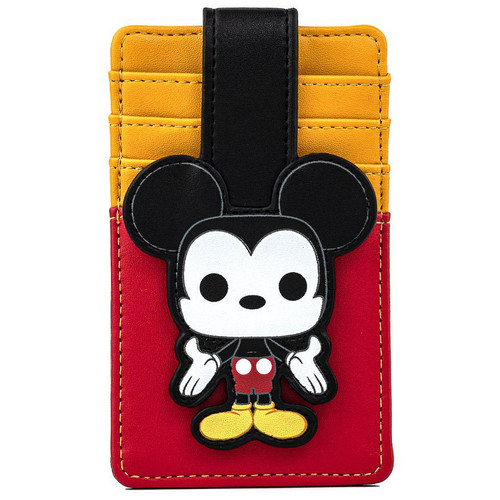 Disney Loungefly Mickey Mouse Pop! by Loungefly Cardholder