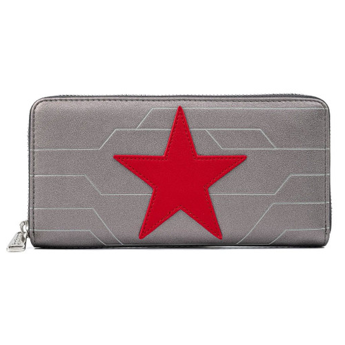 Loungefly Marvel Loungefly Winter Soldier Cosplay Wallet