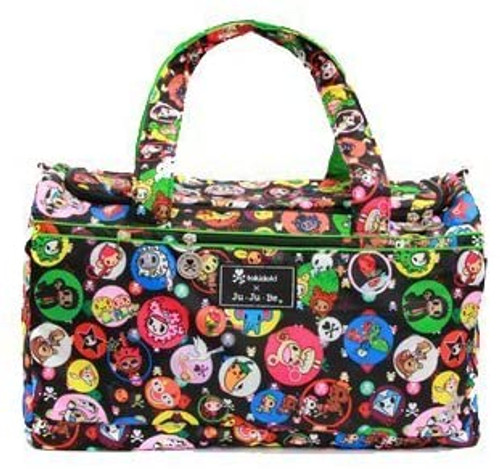 Tokidoki x Ju-Ju-Be Super Star Bubble Trouble Large Duffel Bag New w/ Tags