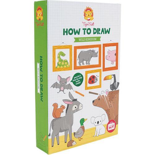 Tiger Tribe How to Draw Wild Kingdom