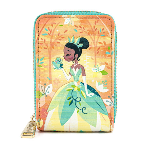 Loungefly Disney Tiana Princess and the Frog Short Zip Wallet