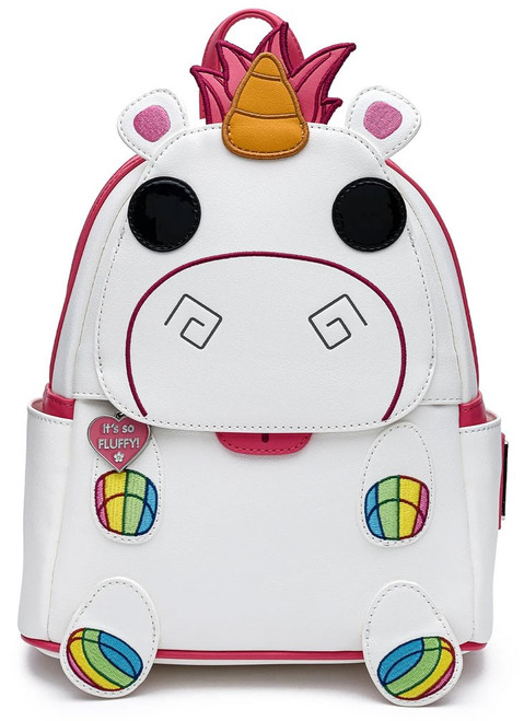 Disney Loungefly Mini Backpack Bag Minions Pop Fluffy Unicorn