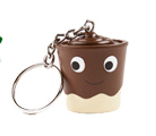 Yummy World Chocolate & Vanilla Key Chain