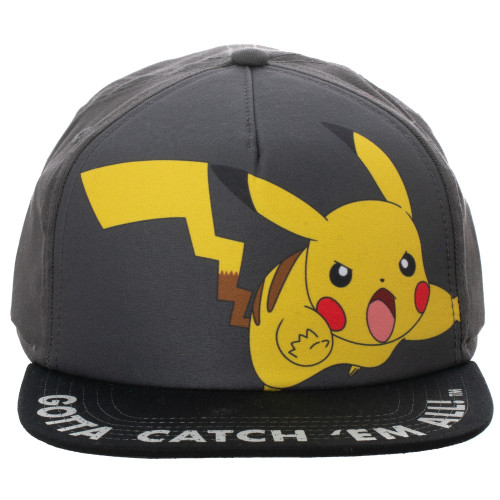 Youth Pokemon Pikachu Snapback