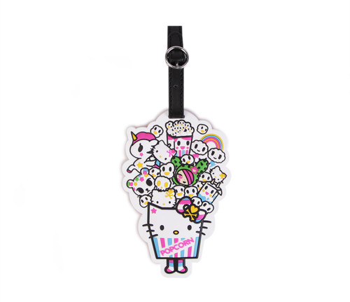 Tokidoki x Hello Kitty PopCorn Luggage Tag