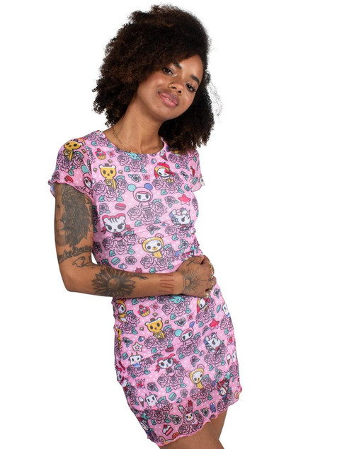 Tokidoki Garden Party Women's Dress