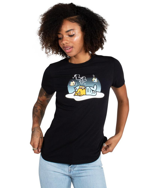 Tokidoki Gudetama Under Water Women's Tee